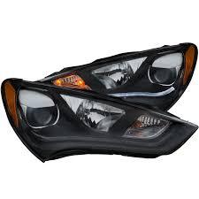 hyundai genesis usa anzo usa hyundai genesis 13 15 2dr projector headlights plank