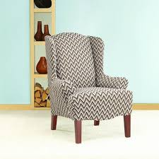 wingback chair slipcover pattern wingback chair slipcover