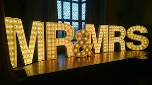 wedding backdrop hire newcastle letters wedding lights and letter hire in newcastle upon tyne