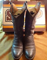 s boots size 9 1 2 sanders two tone gray cowboy boots size 9 1 2 d w original box