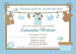 invitation for baby shower boy cloveranddot