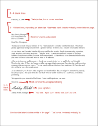 Example Of Semi Block Business Letter by Business Letter Format Free Download For Format Of Business Letter