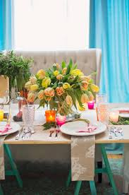 Easter Buffet Table Decorations by Fabulous Easter Brunch Table Decorating Ideas Yellow Tulip Flower