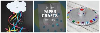 rainy day paper crafts for kids craft paper scissors