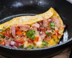 cuisine plus fr recettes omelette au jambon fumé tomates et herbes recette jambon fumé