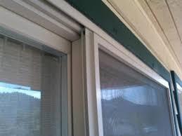 Removing A Patio Door Guardian Screen Doors How To Repair Them