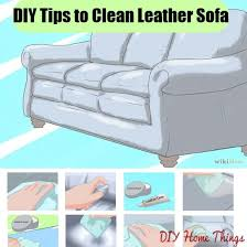 Clean Leather Sofa by Top Tips To Clean Your Leather Sofa Diy Home Things