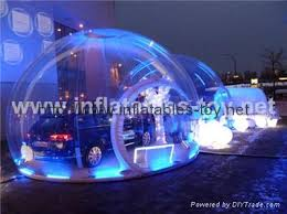Christmas Lights For Cars Huge Clear Christmas Inflatable Bubble Dome For Car Show Advertising
