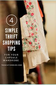 truncation 4 simple thrift shopping tips for your capsule