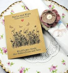 wildflower seed packets 90 best seed packet wedding favours images on seed