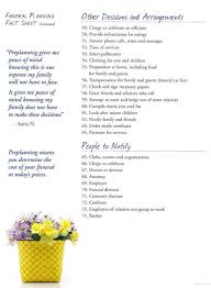 funeral planning checklist phillips funeral home paragould ar funeral home and cremation
