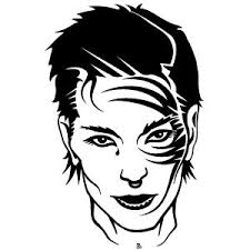 with face tattoo vector freevectors net
