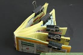 Yellow Desk Organizer How To Turn A Phone Book Into A Desk Organizer 12 Steps