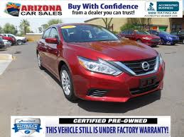 nissan altima 2016 warranty certified pre owned 2016 nissan altima 2 5 4dr car in mesa 17198