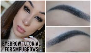 eyebrow tutorial for microbladed brows microblading eyebrow