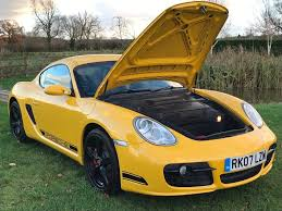 porsche cayman yellow used porsche cayman coupe 3 4 987 s 2dr in kilby leicestershire