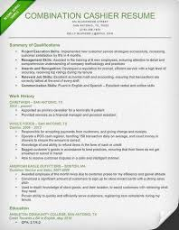 exles of combination resumes resume exles for cashier exles of resumes