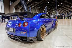 nissan gtr rocket bunny 2009 nissan gt r with rocket bunny body kit and ryft gt 30 wheels