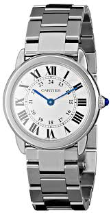 cartier alliance cartier women s w6701004 ronde stainless steel