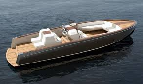first all electric production yacht features carbon fiber