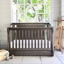 sorelle tuscany in convertible crib and changing table with baby