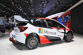 world auto toyota 2017 toyota yaris wrc revealed will race next year with microsoft