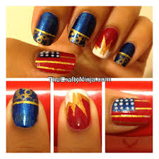fourth of july nails the crafty ninja