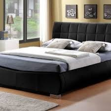 Black Leather Sleigh Bed Black Leather Sleigh Bed Frame Dublin Beds
