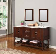 Mission Vanity J U0026 J International 60 Inch Espresso Mission Double Vanity Sink