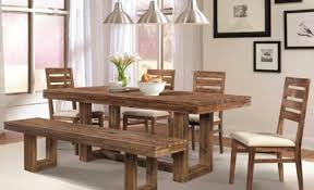 Bench Dining Room Sets Bench Dining Tables With Bench Finest Dining Table With
