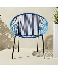 Cb2 Patio Furniture by Huge Deal On Ixtapa Blue Lounge Chair By Cb2