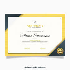 luxury certificate of appreciation template vector free download