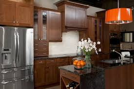 orange kitchen cabinets fancy and natural cherry kitchen cabinets decohoms