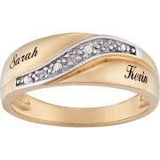 personalized rings with names wedding engagement rings personalized rings walmart