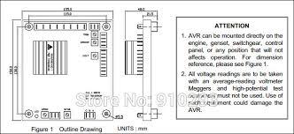 aliexpress com buy generator avr sx440 automatic voltage
