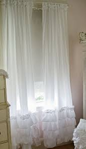 Best Place Buy Curtains Extraordinary Ruffled Curtains White 18 About Remodel Best Place