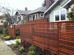Garden Boundary Ideas by Beautiful Horizontal Fencing Design Ideas Privacy Fence Home