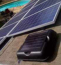solar attic fans solar powered ventilation attic fans