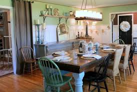 easy tips to design the vintage dining room home decorating designs