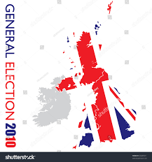 Uk Election Map by Uk Election British Flag Map Britain Stock Vector 49445011