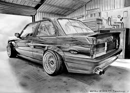 drift cars drawings bmw e30 m technic i by krzysiek jac on deviantart