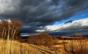 wonderful nature wallpaper autumn over field