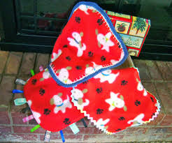 simply shoeboxes mini fleece lovey blankies great for 2 to 4
