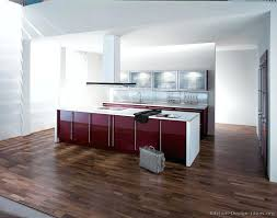 red and white kitchen cabinets modern two tone kitchen red and