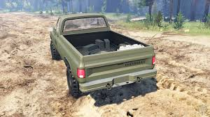 K5 Chevy Blazer Mud Truck - k5 blazer m1008 for spin tires