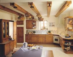 cuisines rustiques bois modele de cuisine rustique modele de cuisine rustique moderne