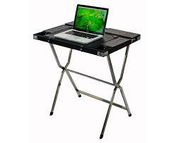 Black And Chrome Computer Desk Safari Computer Desk Mahogany Khaki Canvas N T