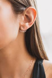 rhodium earrings sensitive ears best 25 ear jacket ideas on accessorize jackets ears