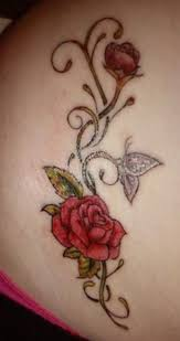 15 best rose and butterfly tattoos images on pinterest rose and