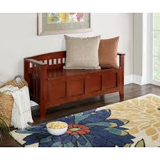 Entryway Storage Bench Entryway Benches U0026 Trunks Entryway Furniture The Home Depot